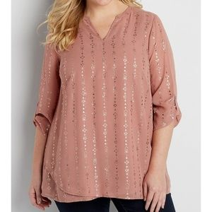 The perfect plus size tunic blouse